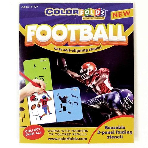 Football Stencil Art