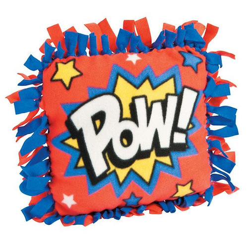 Superhero Tie Pillow