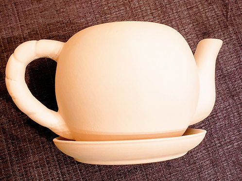 DIY Teapot Planter w/Seeds