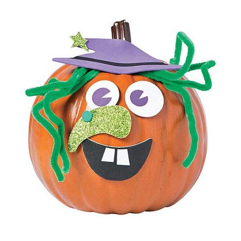Pumpkin Decorating- Witch