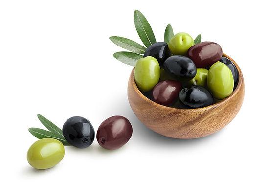 Sağlıklı zeytin meyveleri