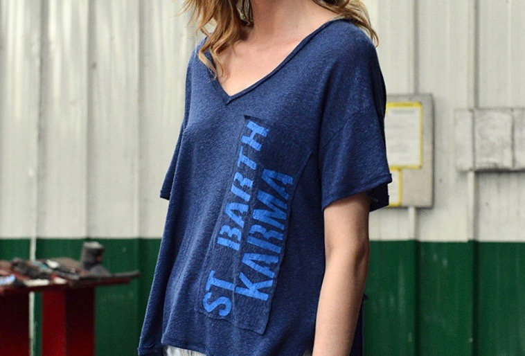 T-shirt Bisous Linen