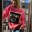 Thumbnail: Sweatshirt Fluo Strap Fleece Pink