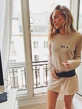 Dress Bardot Linen wholesale