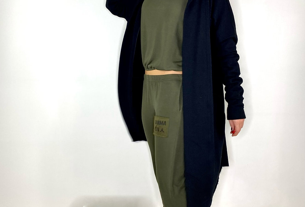 Long Vest Val French Terry - 4 Colors