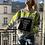 Thumbnail: Sweatshirt Fluo Strap Fleece Grey