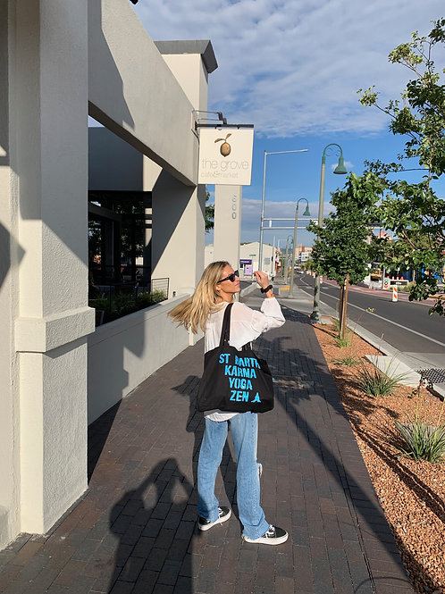 Turquoise Karma Yoga Bag