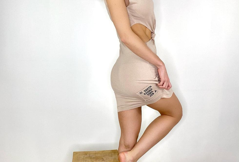 Short Dress Moss Viscose - 3 Colors