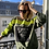 Thumbnail: Sweatshirt Fluo Strap Fleece Khaki