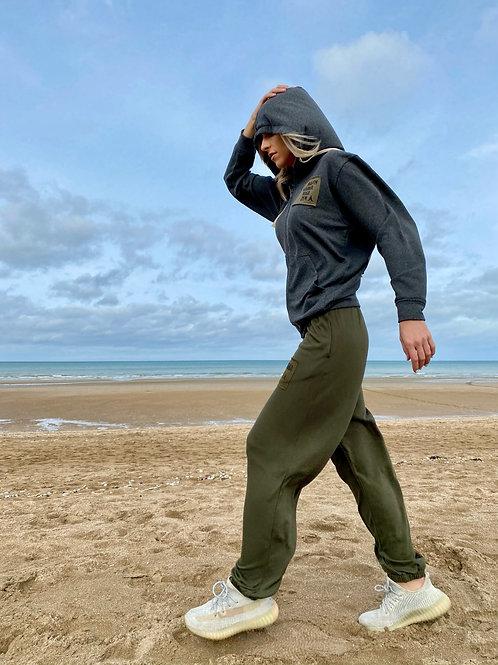 Jogger Harem Pants 04 Khaki One Size