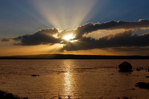 Sunset on Lough Derg