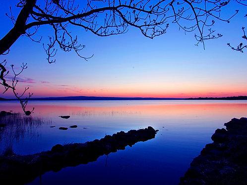 After Sunset on Lough Derg