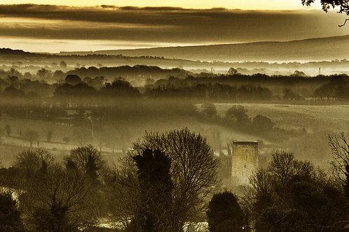 Morning Fog at Tullaun Castle