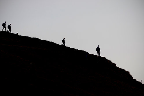 Hill Walkers - Doolin, Co. Clare