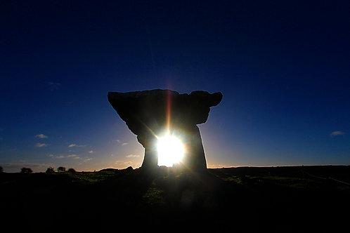 Poulnabrone Dolmen -  Burren, Co. Clare