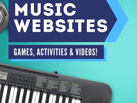 Music Websites with Games, Activities and Videos
