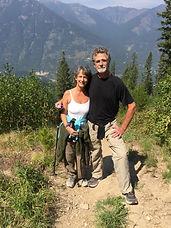 Ani and A hiking in Canada.JPG