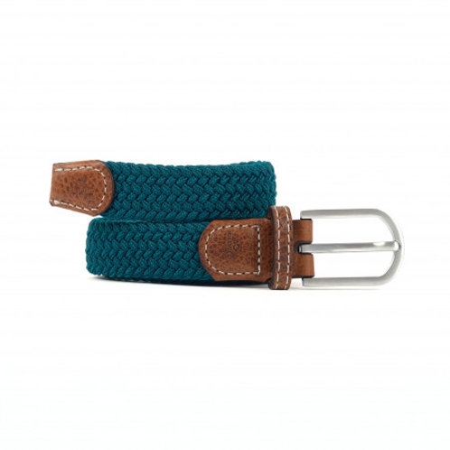 Women's woven Billy Belt - Caribbean Blue