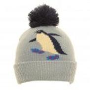 Children's Penguin Bobble Hat