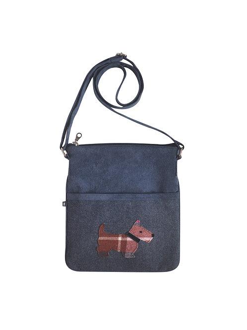 Scottie Dog Applique Block Bag