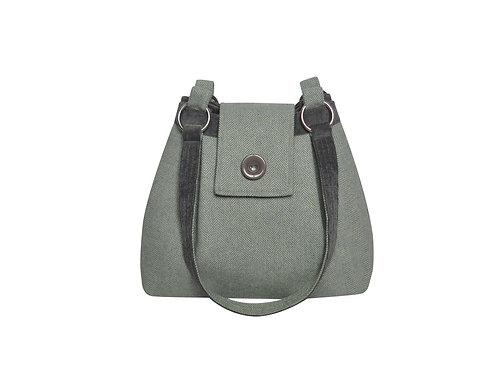 Spring Herringbone Ava Bag