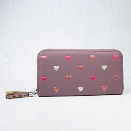 Mulberry heart purse