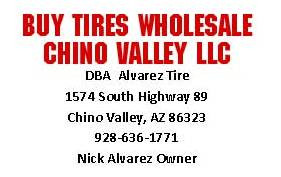Buy Tires Wholesale Chino Valley LLC