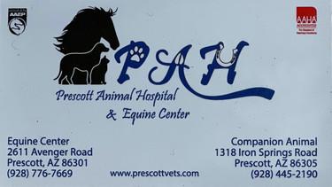 PAH - Prescott Animal Hospital & Equine Center