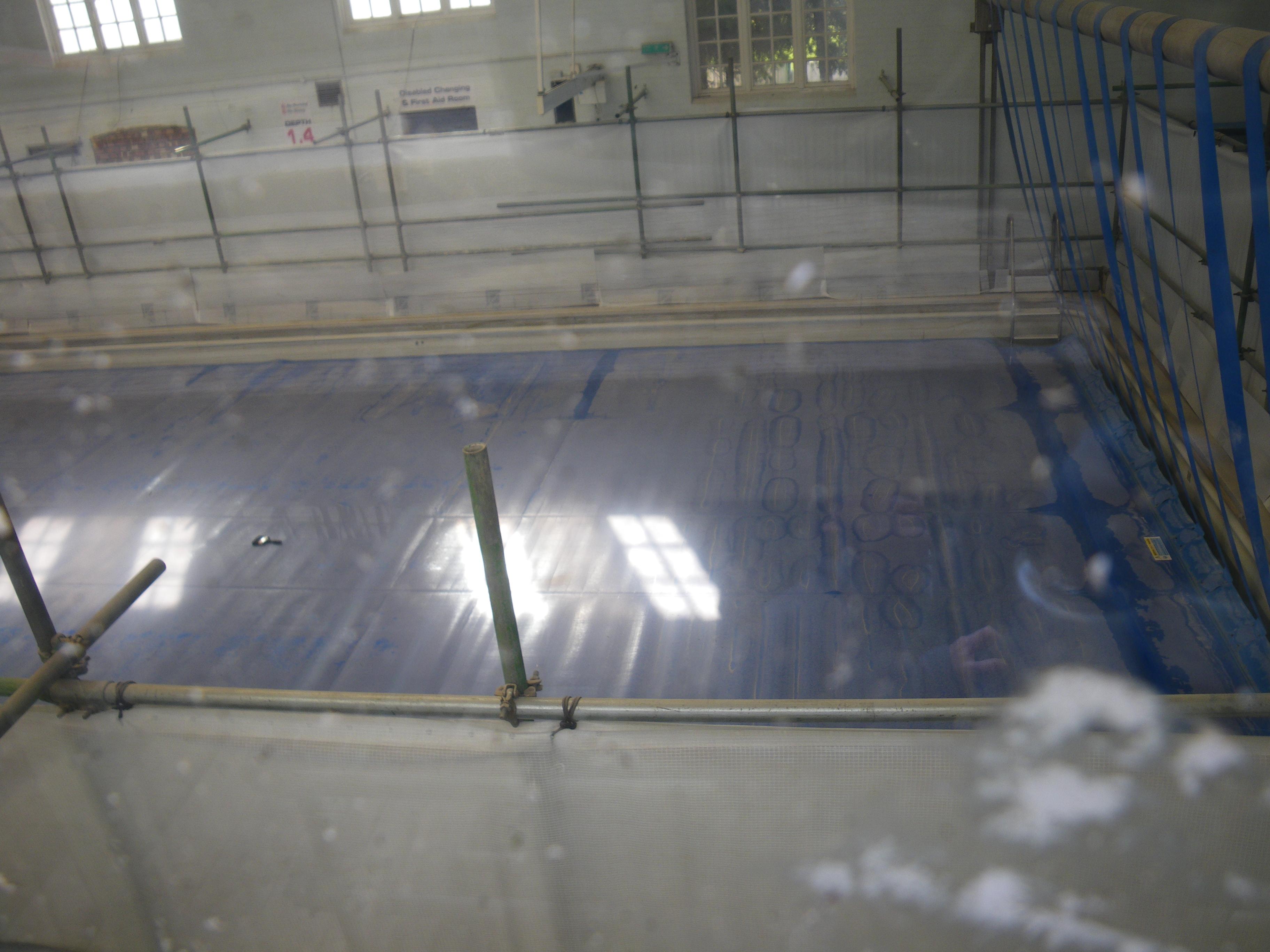 During the refurbishment