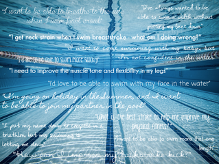 Adult swimmers: What's your target?