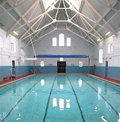 A refurbished pool