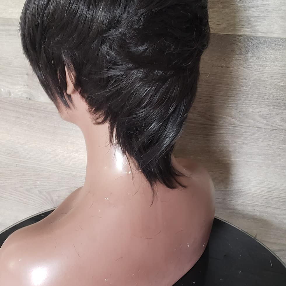 Kelly Cut Closure Pixie Wig Hairtoure