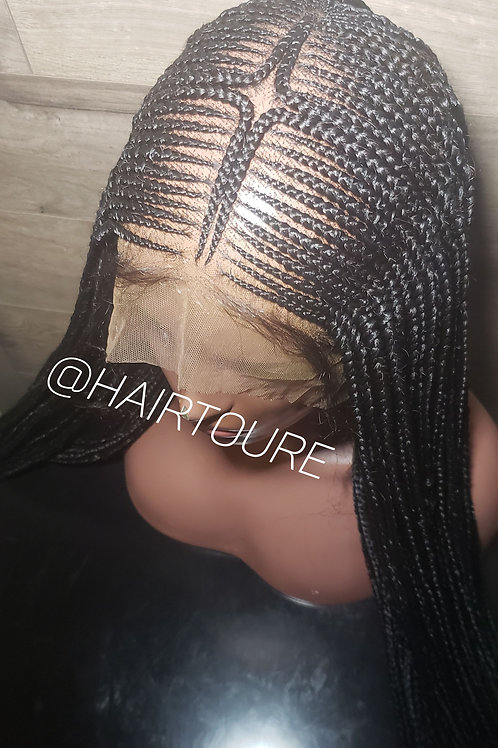 Tribal Stgle 3 Full Lace Wig