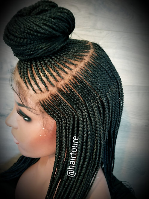 Custom Bunstyle Full Lace Wig