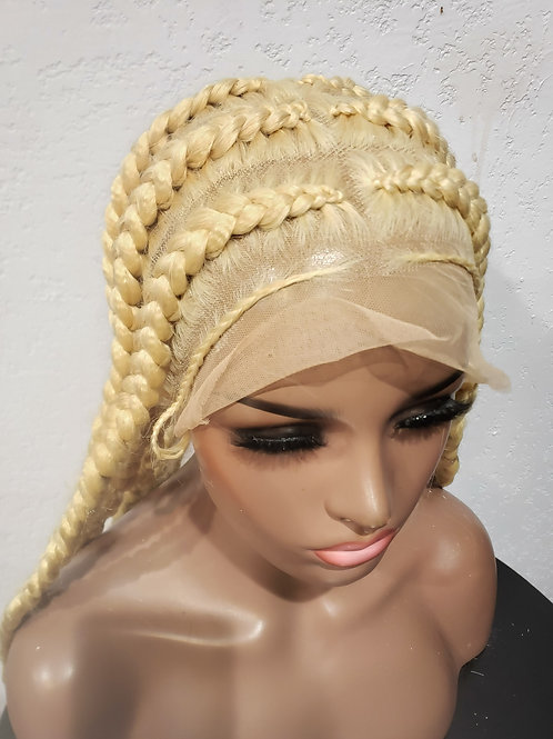 613 Pop Smoke Braided Wig 32inches