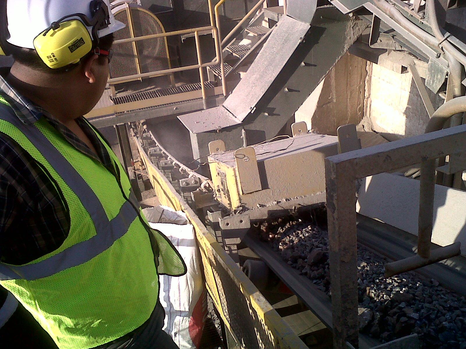 Inspección a detector de metales