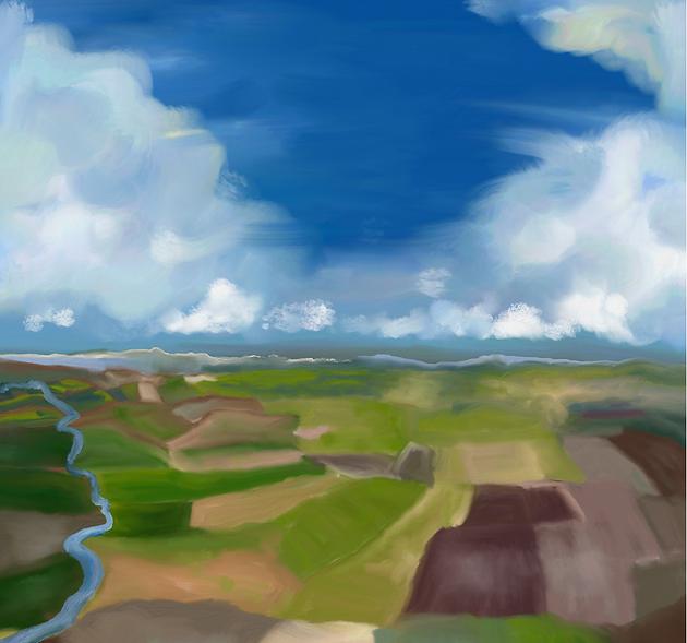 Aerial Farmland Painting LWS 2020 2-02.p