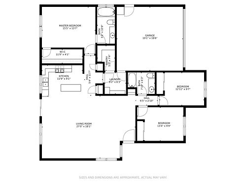2607BagwellCT-Floorplan with dimensions.