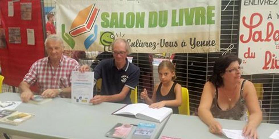 Salon du livre de Yenne (Savoie) à la Salle Polyvalente