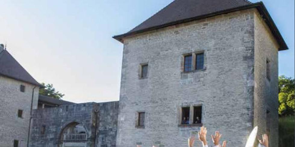 Salon du livre Château de Clermont