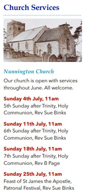 Nunnington Church - July.PNG