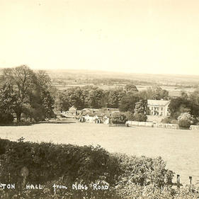 View toward High Orchard and the Hall