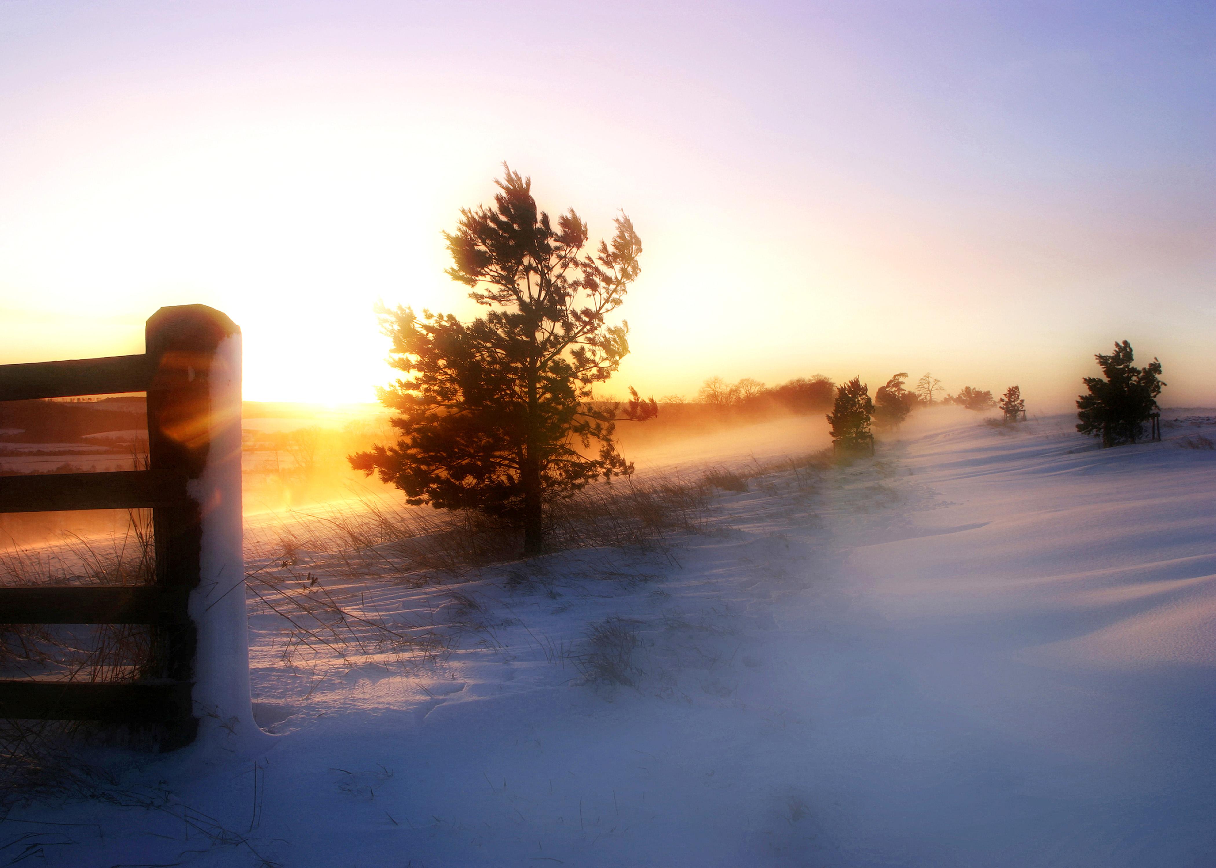 Sunset Drift 14x10
