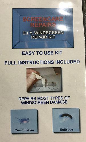 DIY Windscreen Repair Kit with Resin (4-6 repairs)