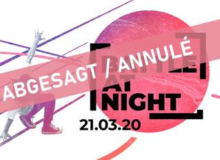 Battle @ Night 2020 - Abgesagt / Annulé