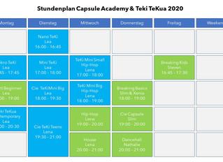 Stundenplan 2020