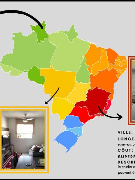 LOGEMENTS BRESIL