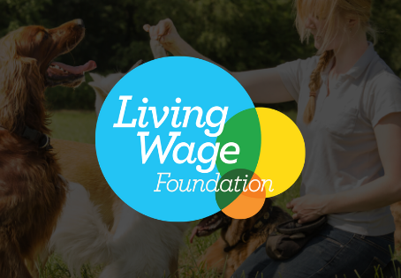 Dog Training College Becomes an Accredited Living Wage Employer