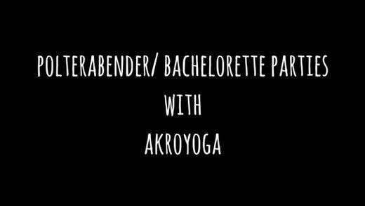 Polterabender/ Bachelor/ette Parties