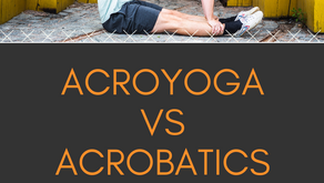 What is the difference between Acroyoga & Acrobatics?